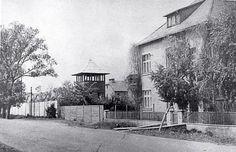 Dom, w którym mieszkał Hoess z rodziną, fotografia z lat 60.