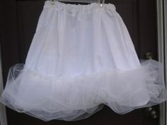 how to make a petticoat easy