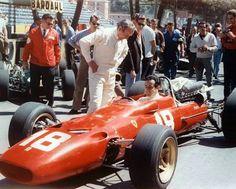1967 Monaco Grand Prix #JohnSurtees #LorenzoBandini #FerrariF1@retroraces
