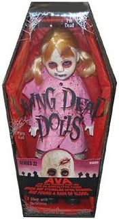 I love Living Dead Dolls! I want to collect them all. So far I only have the Big Bad Wolf