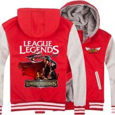 League of Legends Darius printed hoodies 3XL for men