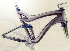 Mountain Bike Sketch Mountain bike