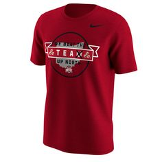Men's Nike Scarlet Ohio State Buckeyes We Beat The Team Up North T-Shirt