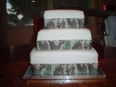 Another camo cake