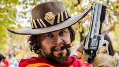 Realistic McCree Cosplay by GUARDIAN OF AVALON