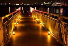 """thenujabeslover:  Yokohamas Illuminations by YoAndMi on Flickr.  """