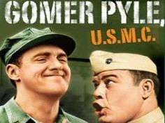 Gomer Pyle is a sweet but not too smart Marine stationed at Camp Henderson near Los Angeles. Gomer's innocence, naivete and low-key demeanor often got him into trouble, most frequently at the hands of his loud-mouthed superior, Sgt. Carter. Duke, Frankie, Lester and Larry were some of Gomer's pals and fellow enlisted men at Camp Henderson, and Lou Anne Poovie was his sometimes girlfriend.