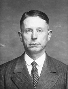 """Peter Kurten """"The Vampire of Dusseldorf"""", serial killer. He confessed to have killed 79 people but he was only charged with A well known sadist, he even asked whether he would be able to hear his own blood gush when he was to be beheaded. Evil People, Why People, Scary People, Evil Under The Sun, Famous Serial Killers, Real Horror, True Crime Books, Real Monsters, Cain And Abel"""