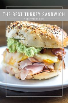 The BEST Turkey Sandwich The secrets to making the very best turkey sandwich Ideas i will organize this once school is over Healthy Sandwich Recipes, Healthy Sandwiches, Delicious Sandwiches, Gourmet Recipes, Cooking Recipes, Healthy Food, Best Lunch Recipes, Deli Sandwiches, Turkey Sandwiches