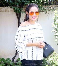 Off Shoulder blouse | OOTD #offshoulder #fashionblogger