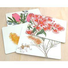 Bloom Place mats - Homewares Made by Mokoh Design Western Australia. – Bits of Australia