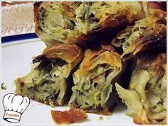 Greek Recipes, Vegan Recipes, Vegan Food, Best Greek Food, Greek Pastries, Filo Pastry, Bake Zucchini, Pie Dish, Clean Eating