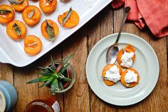 Fall in love with summer by adding these roasted apricots to your appetizer or dessert repertoire. They're sweet, savoury, and creamy.