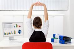 Stretches for those with desk jobs.