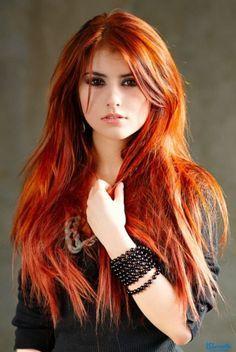 Orange: Hair Color on Pinterest | Orange, Hayley Williams and Hair