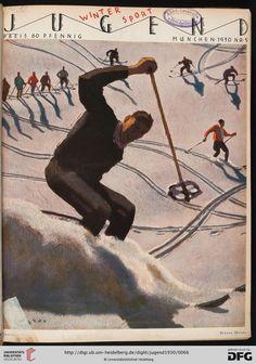 Jugend: Münchner illustrierte Wochenschrift für Kunst und Leben — 35.1930 / Alfons Walde: Titelbild