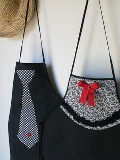 his n hers aprons, cute!