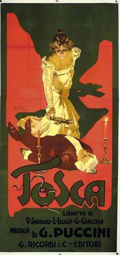 Tosca ~ Adolfo Hohenstein
