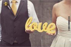 love wedding sign | VIA #WEDDINGPINS.NET