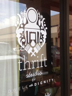 Not sure where this store is located but I would check it out just because of the logo and store name!!!!  Love me some creativity and thrifting!   Thrift Studio