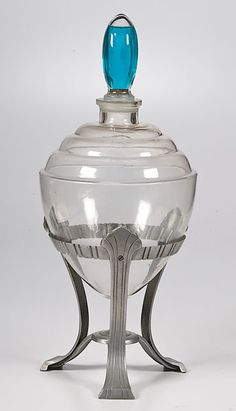 Apothecary Show Globe on Aluminum Base, Sold at auction -  Price Realized: USD 293.75