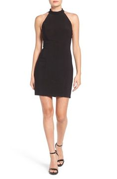 Jump Apparel 'Brenna' Beaded Back Body-Con Dress available at #Nordstrom