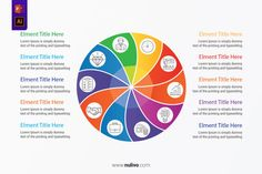 Vector Twisted Circle Infographic with 10 Steps For PowerPoint best infographic vectors design elements to help you with the presentation of your infographic, very easy to customize. Take a closer look to get started! Circle Infographic, Type Setting, Vector Design, Lorem Ipsum, Get Started, Design Elements, Closer, Vectors, Divider