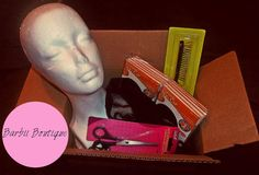 DIY Wig Making Kit*  Enjoy Making Your Own Wig Complete With Supplies* u part wig, half wig, full wig, clip-in units....endless creations