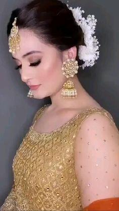 Wedding Dresses For Girls, Bridal Dresses, Girls Dresses, Aiman Khan, Bridal Dress Design, Saddest Songs, Pakistani Actress, Cute Love Songs, Beach Pictures
