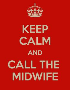 Saw this hanging in my midwife's office - good advice :)