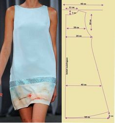 Easy Sewing Patterns, Clothing Patterns, Dress Patterns, Fashion Sewing, Diy Fashion, Sewing Clothes, Diy Clothes, Costura Fashion, Sewing Lessons