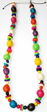 Necklace made in Bombona with Tagua buttons - Online sale of colombian Bijouterie handmade with Tagua, Bombona and Asahi seeds Buttons Online, Arts And Crafts, Diy Crafts, Beaded Necklace, Necklaces, Craft Corner, Purple Leather, Leather Handbags, School Ideas