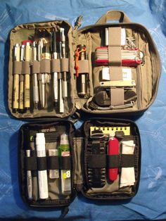I know there are pics on the large EDC pocket organizer thread, but I thought it. Edc Tools, Survival Tools, Camping Survival, Outdoor Survival, Emergency Preparedness, Maxpedition Fatty, Mochila Edc, Bug Out Gear, Everyday Carry Items