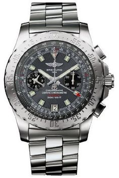 Breitling Professional Skyracer Steel Grey Mens Watch A2736223-F532