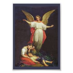 Guardian Angel Pictures, The Guardian, Gardian Angel, Victorian Artwork, Angel Protection, Baroque Painting, I Believe In Angels, Angels Among Us, Angel Cards
