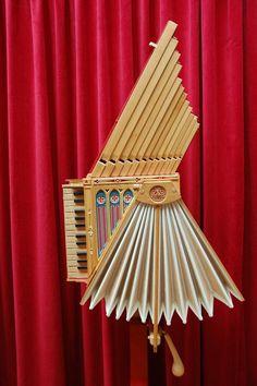 L〰La fisarmonica di Leonardo Da Vinci