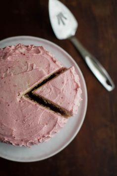 Lemon Raspberry {Birthday} Cake