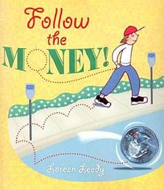 Engage your kids in counting change, spending wisely and financial literacy with this awesome list of the best books to teach money math concepts. Teaching Money, Teaching Math, Teaching Reading, Maths, Math Resources, Math Activities, Money Book, First Grade Math, Second Grade