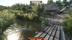 Kingdom Come Deliverance, Garden Bridge, Medieval, Video Games, Folk, Outdoor Structures, 3d, Inspiration, Design
