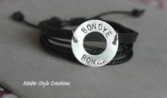 Hand Stamped adoption/mission Bondye Bon (God is good in Creole) leather Haiti bracelet Haiti Adoption, Family Matters, God Is Good, Jewelry Crafts, Hand Stamped, Scrubs, Crafting, Jewelry Making, Bracelet