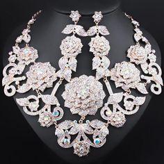 Product Specifics Metals Type:Zinc AlloyMaterial:CrystalJewelry Sets Type:Bridal Jewelry SetsItem Type:Jewelry SetsFine or Fashion:Fashionis_customized:YesStyle:HyperboleOccasion:WeddingModel Additional Item Description:Necklace+Earrings Women's Jewelry Sets, Red Jewelry, Rhinestone Jewelry, Cheap Jewelry, Women Jewelry, Crystal Rhinestone, Jewlery, Indian Bridal Jewelry Sets, Wedding Jewelry Sets