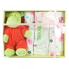 cutie cadou cu haine si jucarii pentru nou nascuti fetita Cute Princess