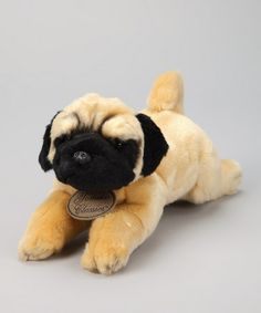 Take a look at this Pug Dog Plush Toy by Russ Berrie on #zulily today!