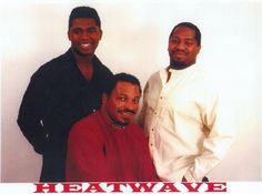 Heatwave, one of the most popular Soul bands of the past few decades, with their inimitable blend of sweet Soul grooves and great Pop/Soul/Dance songs are back with a vengeance. Everything has been re-recorded with the Soul essence of yesteryear and the hard funkiness of the 90's. NOTHING HAS BEEN REMIXED! Apply the sun tan oil and roast yourself in the sounds of Heatwave today. http://bigfootevents.co.uk/entertainment/entertainment-live-music/Soul-Motown-Acts/Heatwave