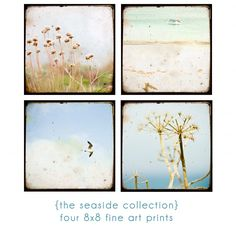a seaside collection of ttv fine art prints by {a lomo love affair}