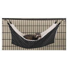 YunNasi Black with Dots Small Pet Dog Sleep Warm Hammock Small size 134L x 134W * Check this awesome product by going to the link at the image.