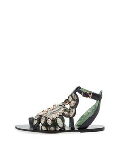 6b79a7809f Scrabby Leather Sandal by Ivy Kirzhner at Gilt