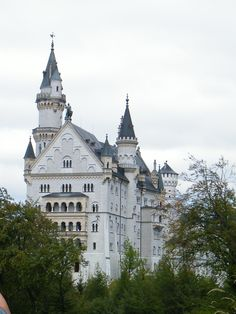 Neuschwanstein Castle in Germany- a fairly young castle in relation to European history