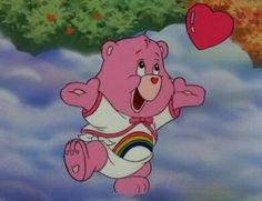 Cheer Bear from Care Bears Movie 2 Cartoon Icons, Cartoon Memes, Cute Cartoon, Funny Memes, Memes Humor, Vintage Cartoons, Old Cartoons, Cartoon Wallpaper, Aesthetic Wallpaper Hd