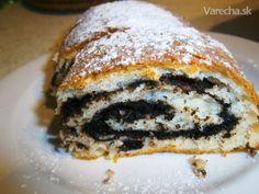 Kakaový koláč s bielkovou plnkou (fotorecept)